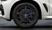 Комплект литых дисков BMW Star Spoke 748M, black-matt