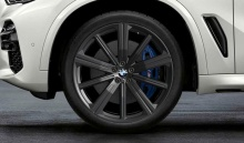 Комплект литых дисков BMW Star Spoke 749M, black-matt