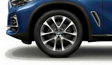 Комплект литых дисков BMW V-Spoke 738, ferricgrey