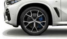 Комплект литых дисков BMW Y-Spoke 741M, orbit-grey