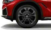 Комплект литых дисков BMW Y-Spoke 744, black-matt