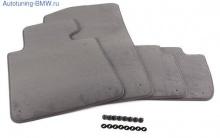 Комплект велюровых ножных ковриков BMW F07 GT 5-серия