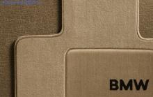 Комплект велюровых ножных ковриков для BMW E60 5-серия