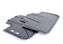 Всепогодные ножные коврики для BMW X3 G01, задние