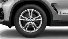Комплект зимних колес Double Spoke 688 для BMW X3 G01/X4 G02