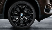 Комплект зимних колес Star Spoke 491 для BMW X5 F15/X6 F16