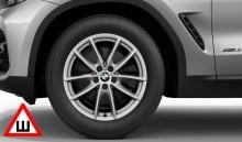 Комплект зимних колес V-Spoke 618 для BMW X3 G01/X4 G02