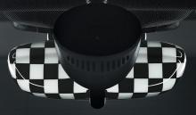 Крышка внутреннего зеркала Checkered Flag для MINI