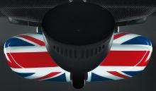 Крышка внутреннего зеркала Union Jack для MINI