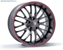 Литой диск Breyton Race CS Matt Gun Metal Red