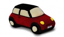 MINI вязаный автомобиль