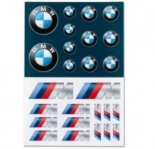 Набор наклеек BMW
