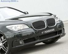 Накладка на передний бампер BMW F01 7-серия