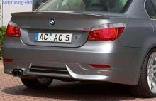 Накладка на бампер задний BMW E60 5-серия AC Schnitzer