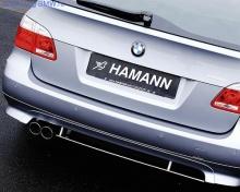 Накладка на бампер задний BMW E61 5-серия