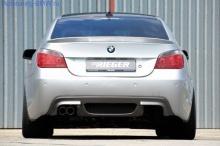 Накладка на бампер задний BMW E60/E61 5-серия Rieger