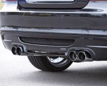 Накладка на бампер задний BMW E82 1-серия