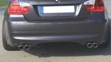 Накладка на задний бампер для BMW E91 3-серия