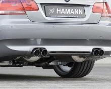 Накладка на бампер задний BMW E92 3-серия