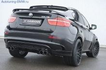 Накладка Hamann на задний бампер BMW X6M E71
