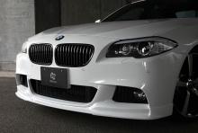 Накладка переднего бампера 3DDesign для BMW F10 5-серия