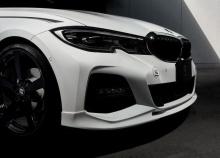 Накладка переднего бампера 3DDesign для BMW G20 3-серия