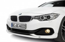 Накладка переднего бампера AC Schnitzer для BMW F32 4-серия