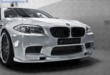 Накладка переднего бампера Hamann для BMW M5 F10 5-серия