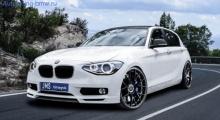 Накладка переднего бампера JMS для BMW F20 1-серия