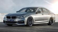 Накладка переднего бампера JMS для BMW G30 5-серия