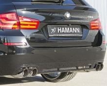Накладка заднего бампера Hamann для BMW F11 5-серия