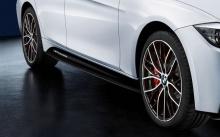 Накладки боковых порогов M Performance для BMW F30 3-серия