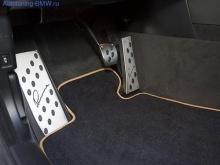 Накладки на педали для BMW Lumma (МКПП)