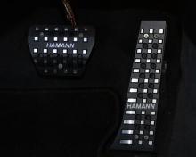 Накладки на педали Hamann для BMW X5 F15/X6 F16