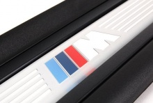 Накладки на пороги дверей BMW E92/E93 3-серия