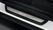 Накладки на пороги M Performance для BMW X4 F26