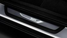 Накладки на пороги с подсветкой для BMW X4 F26