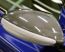Карбоновые накладки зеркал Hamann для BMW E60/E63