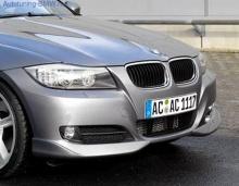 Накладки на бампер передний BMW E90 3-серии