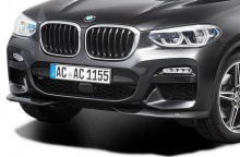 Накладки переднего бампера для BMW X4 G02