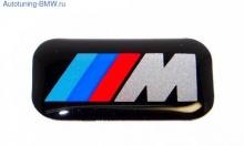 Наклейка эмблема M