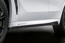 Наклейки M Performance на боковые пороги BMW X5 G05