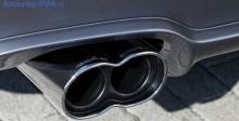 Насадка на глушитель BMW AC SCHNITZER