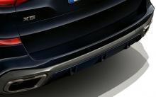 Насадки глушителя Cerium Grey для BMW X5 G05