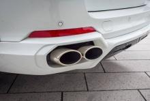 Насадки глушителя Kelleners для BMW X5 F15