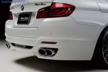 Насадки на глушитель WALD для BMW F10 5-серия