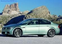 Оригинальные пороги для BMW M3 E90 3-серия