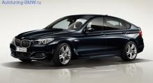 Оригинальные пороги М-стиль для BMW GT F07 5-серия