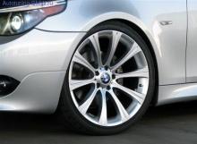 Оригинальный легкосплавный диск BMW, стиль-166