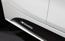 Накладки на пороги M Performance для BMW F20 1-серия